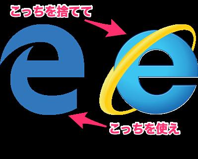 検索力を語る前に、IEを捨てEdgeを持て!